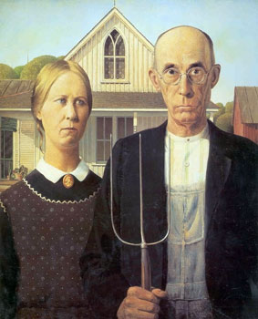 American Gothic Couple