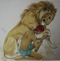 https://static.tvtropes.org/pmwiki/pub/images/Androcles_and_the_Lion.jpg