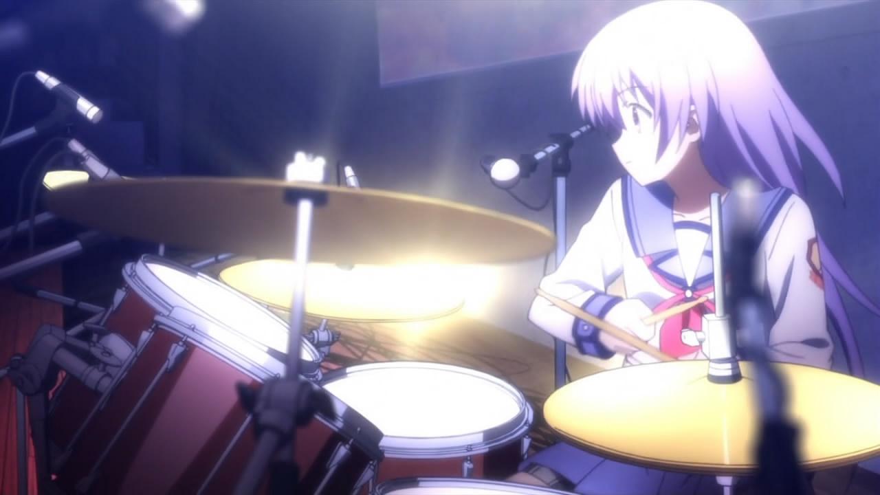 Slikovni rezultat za miyuki irie  angel beats gif