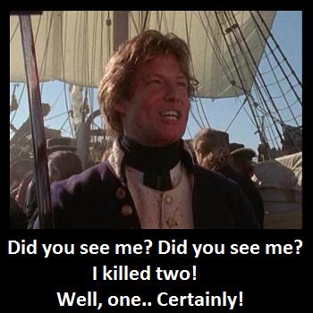 Image result for Hornblower meme