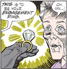 engagement ring tv tropes