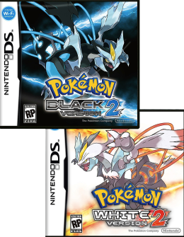 Video Game Pokemon Black 2 And White 2