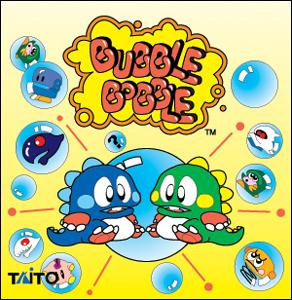 gioco bubble bobble da