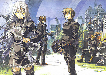 Chrome Shelled Regios (Light Novel) - TV Tropes