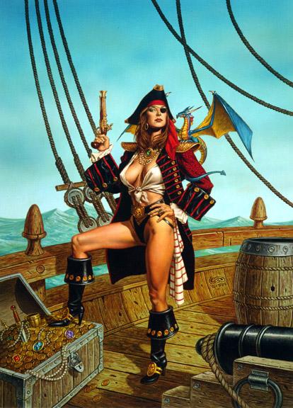Black woman pirate porn think, that