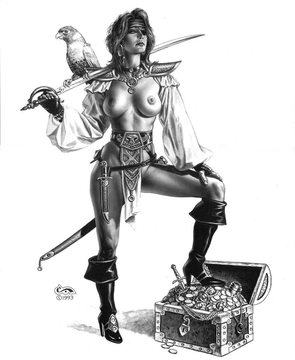 Erotic pirate woman fucked photo