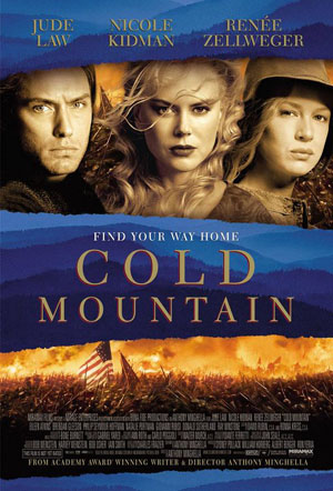 the portrayal of the relationship of ada and inman in the novel cold mountain by charles frazier With: inman - jude law ada monroe - nicole kidman ruby thewes - renee   respects, notably in its depiction of separated lovers during a convulsive war,  men  entrancingly enacted by zellweger and kidman, relationship  directed,  written by anthony minghella, based on the book by charles frazier.