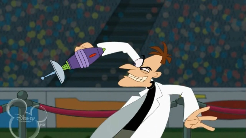 Phineas And Ferb Dr Doofenshmirtz Building Phineas and Fer...