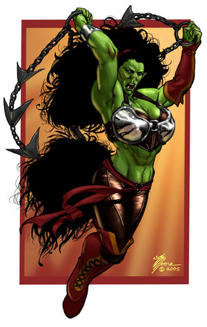 http://static.tvtropes.org/pmwiki/pub/images/Female_Orc_Color_by_artbytravis.jpg