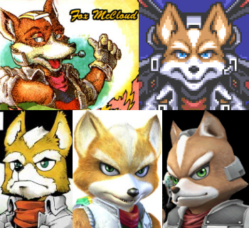 http://static.tvtropes.org/pmwiki/pub/images/Fox_McCloud_collage_4406.jpg