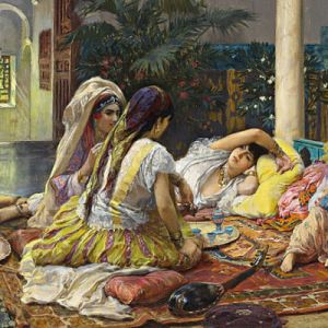 Sex in the harem