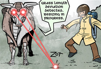 http://static.tvtropes.org/pmwiki/pub/images/Gunnerkrigg-LaserCows_5409.png