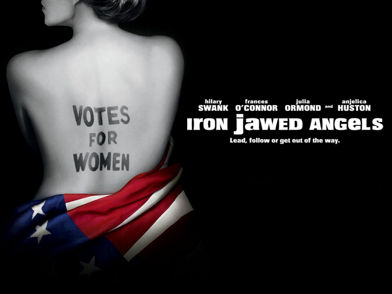 iron jawed angels paper In the movie iron jawed angels what's the meaning of the paper the warden gives to lucy barnes the movie iron jawed angels is about political activists that.