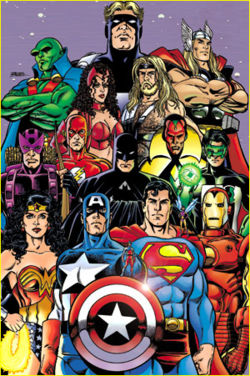 Super Heroes Teams Category