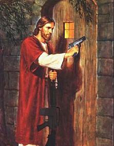 http://static.tvtropes.org/pmwiki/pub/images/JesusGunDoor.jpg