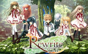 rewrite visual novel tv tropes