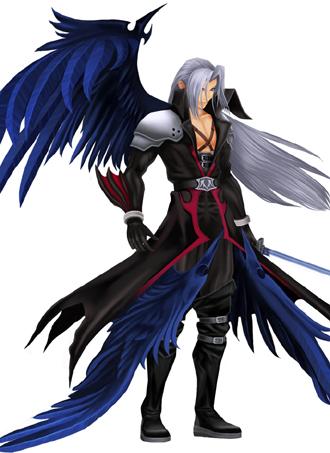 Sephiroth Wing Kingdom Hearts ...