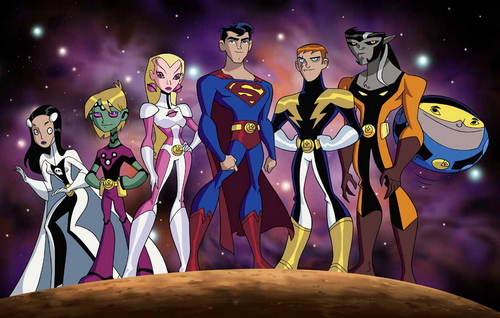The Animated Adaptation of the Legion of Super-Heroes comic book