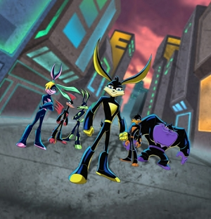 Loonatics Unleashed favourites by UniqueXHeartXRocker on ... |Loonatics Unleashed Wedgie