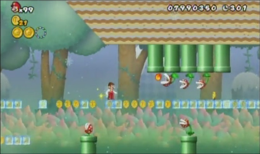 Super Mario Bros  / That One Level - TV Tropes