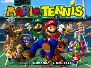 Video Game: Mario Tennis