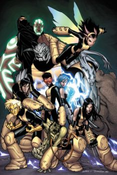 X men evolution new mutants