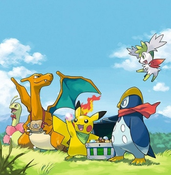 Pokemon Mystery Dungeon: Legacy of Hatred (OOC) PMD_EOS_9077