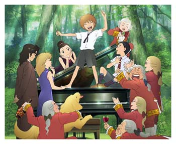 One Of The Nominations For Japanese Academy Award Prize Animated Film Year Is Piano No Mori Its A Very Healing Type Movie