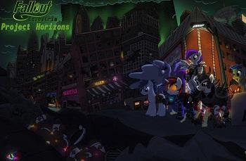 Blackjack Pegasus Porn - Fanfic / Fallout: Equestria - Project Horizons