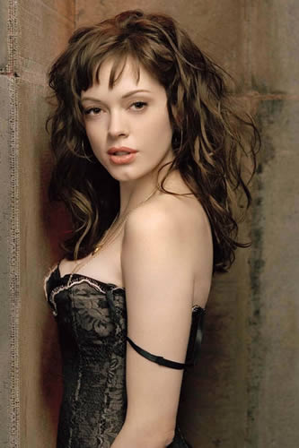rose mcgowan body measurement