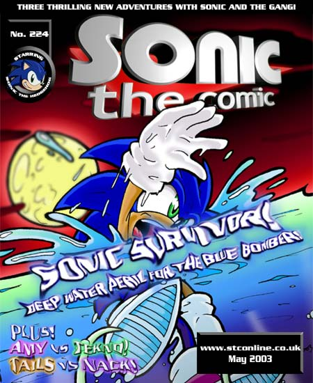 sonic the comic online webcomic tv tropes