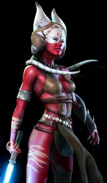 I'd probably be most interested in a Shaak Ti Bishoujo, preferably in