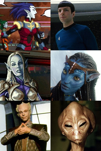 Space Elves - TV Tropes