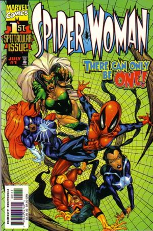 http://static.tvtropes.org/pmwiki/pub/images/Spider-Woman_v3_01_-_00_-_FC.jpg