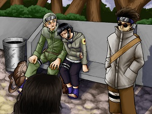 Are not Naruto and hinata meets parents