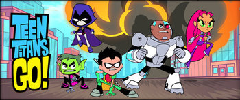 Teen Titans Western Animation  TV Tropes