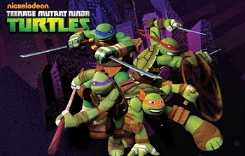 Western animation teenage mutant ninja turtles 2012