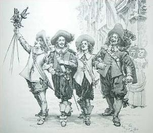 The Three Musketeers Literature Tv Tropes
