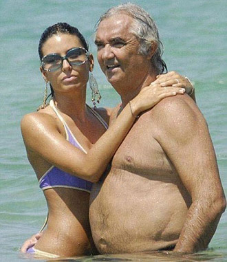 Money Talks . And it has the best pickup lines. He's Flavio Briatore