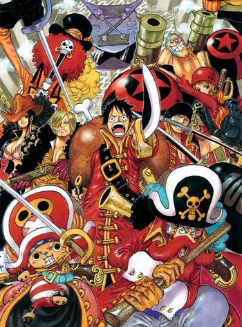 One Piece Film: Z (Anime) - TV Tropes