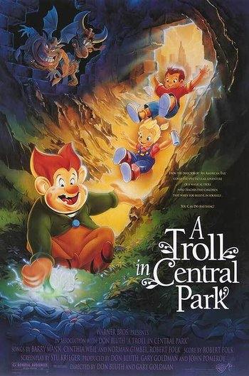 a troll in central park western animation tv tropes