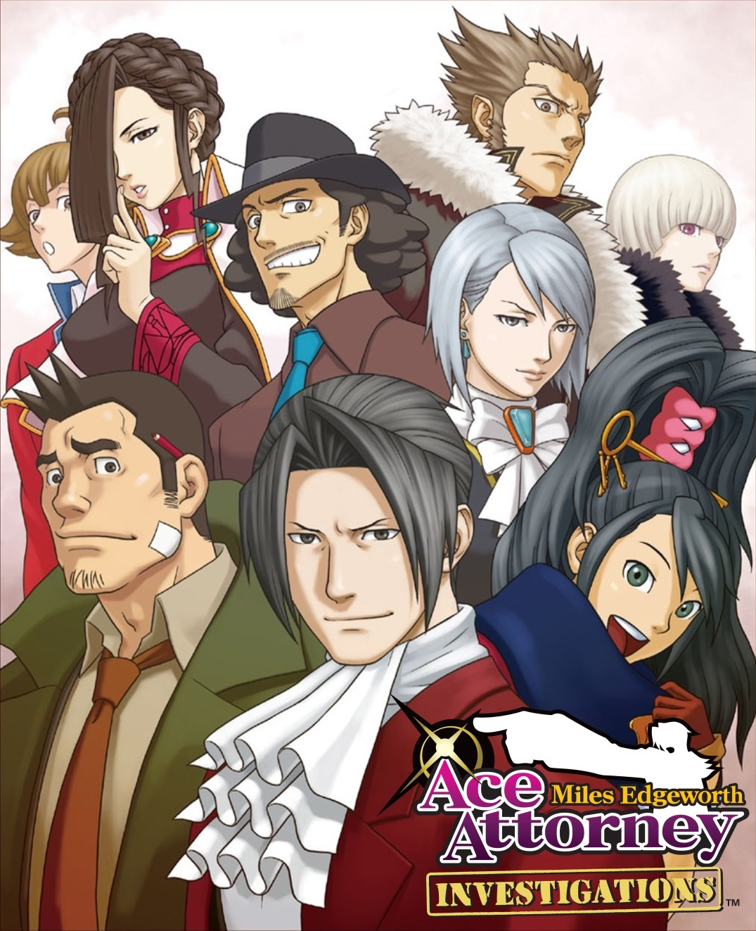 Ace Attorney Investigations Miles Edgeworth Visual Novel Tv