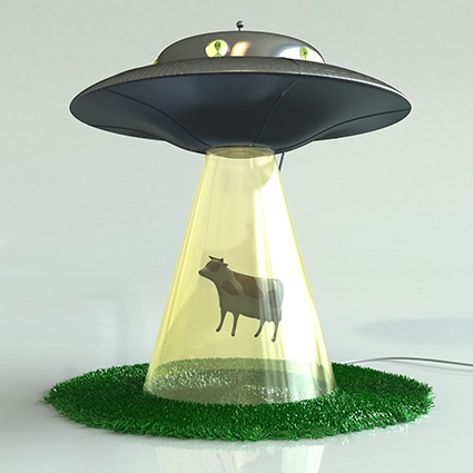Aliens Steal Cattle - TV Tropes