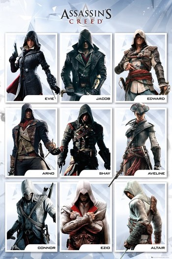 Assassin S Creed Characters Tv Tropes