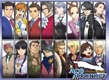 Ace Attorney Characters Tv Tropes