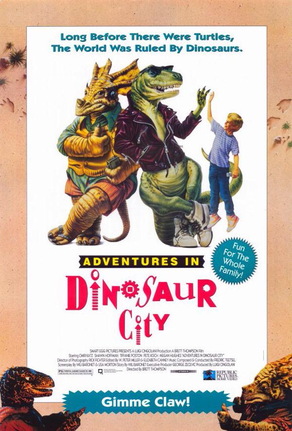adventures in dinosaur city film tv tropes