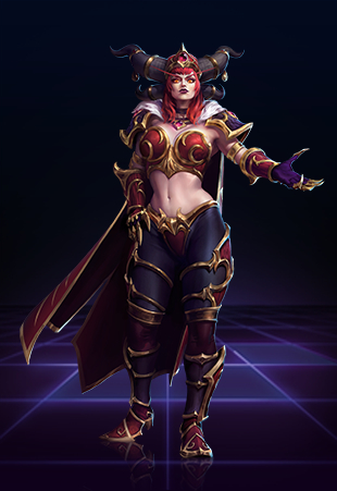 Alextraza Best Build Heroes Of The Storm