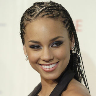 alicia keys braids hg de 3815 6 Beautiful Black Hairstyles