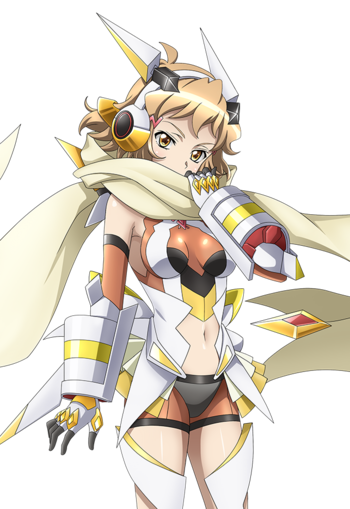 Pastel anime boy