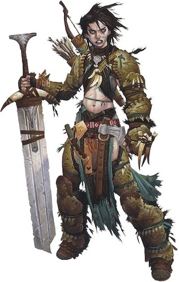 Pathfinder Iconics / Characters - TV Tropes